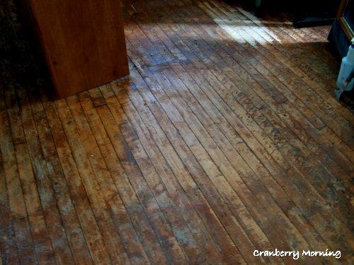страшный деревянный пол