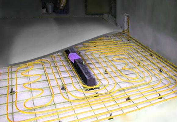 Как сделать теплый пол в гараже