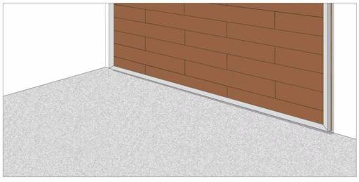 Метод укладки ламината на стену